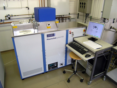 Oxford plasmalab system 100 PECVD