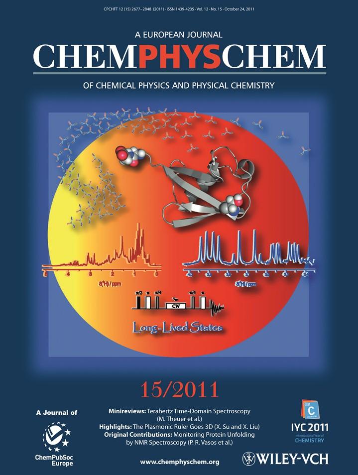 cover chemphyschem 2011