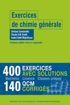 exercices chimie générale