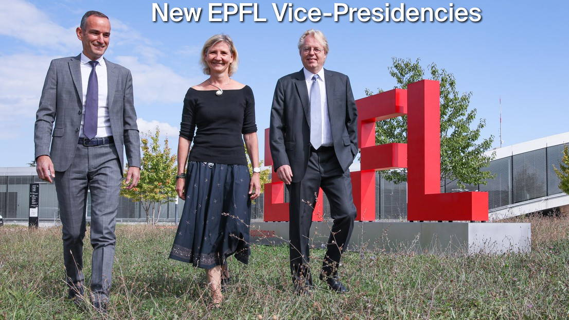 New EPFL Vice-Presidencies approved