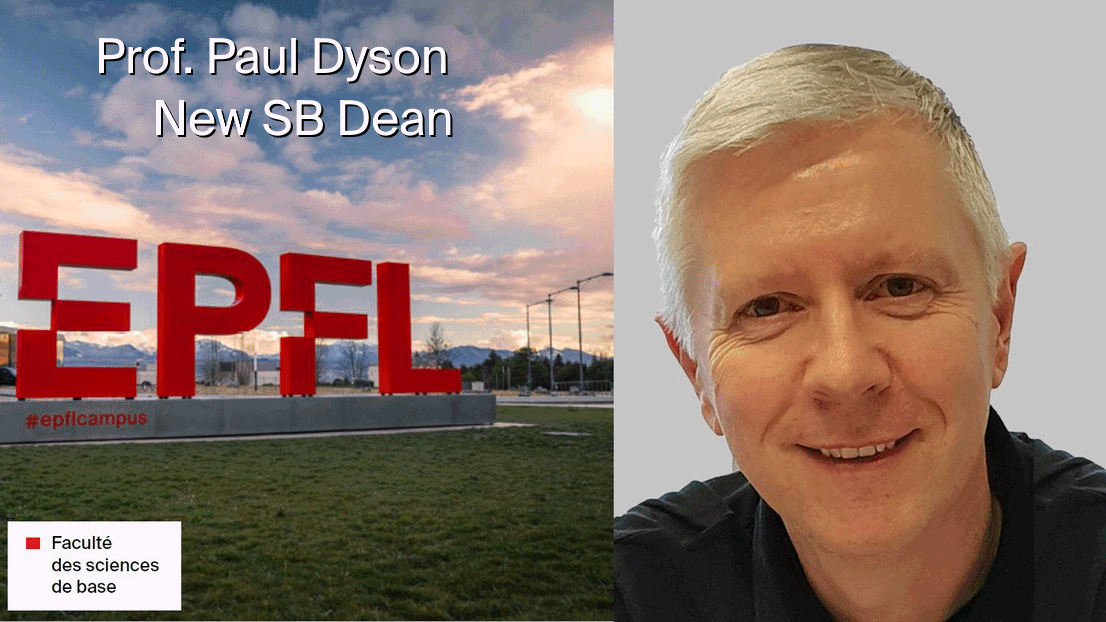 Prof. Paul Dyson is the new SB Dean