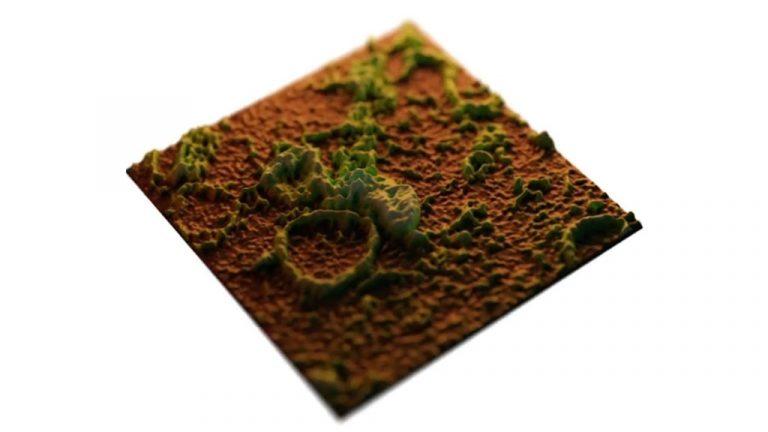 Surface of planet SKMEL - Veronika Cencen - Vote 2
