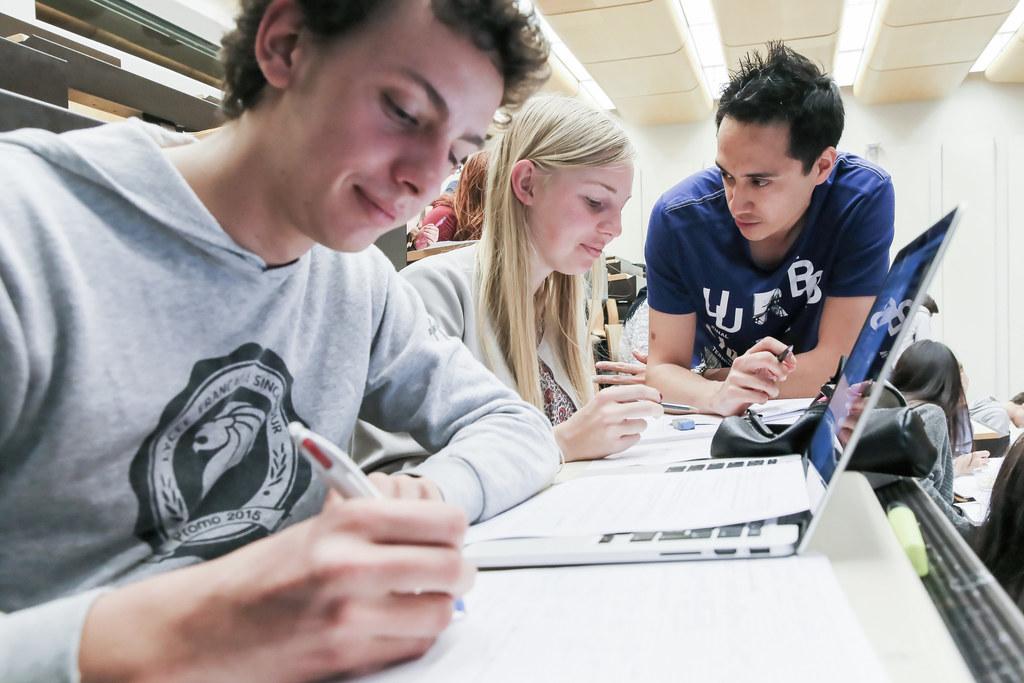 EPFL Master students | © Alain Herzog