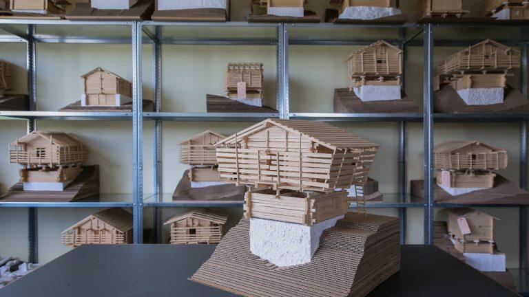 Maquettes chalet ENAC EPFL