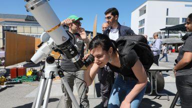 Observation du ciel avec l'association Callista EPFL