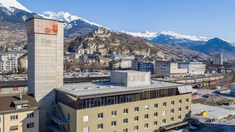 Le campus de EPFL Valais Wallis